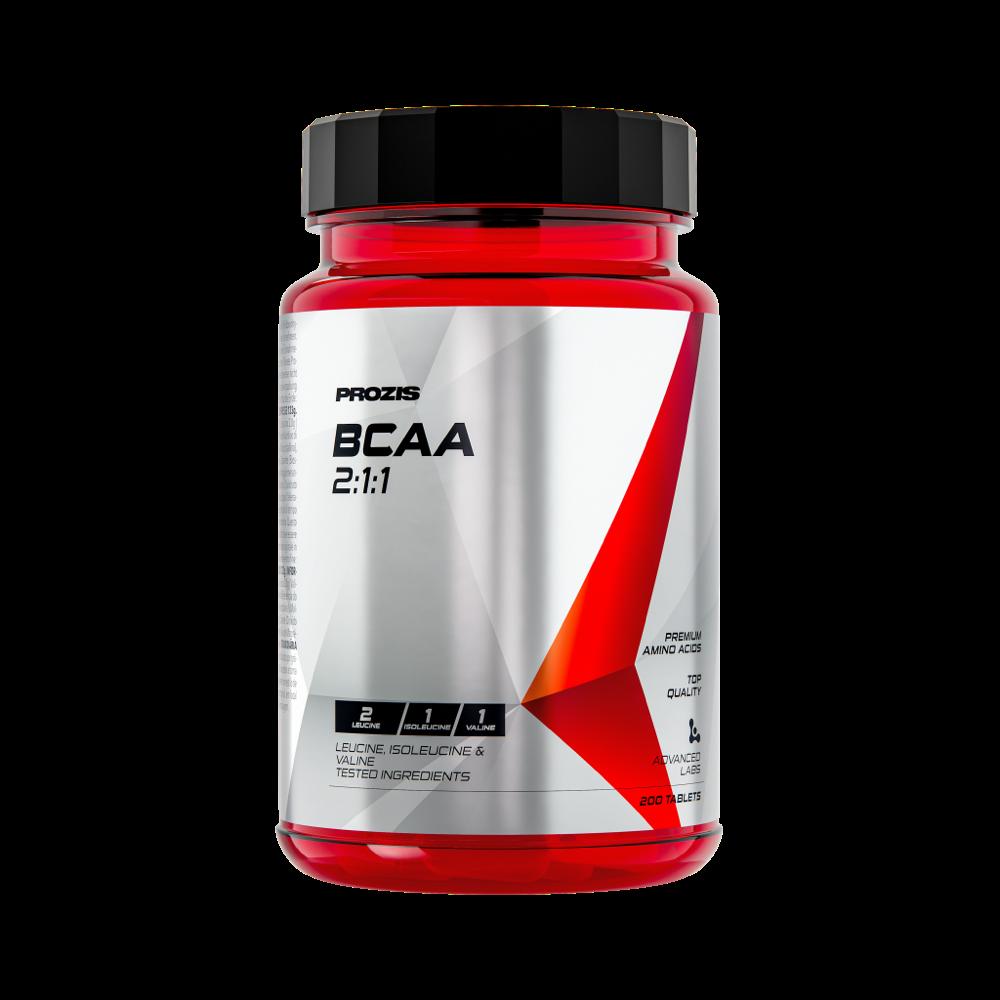 BCAA 2:1:1 200 tabs - Amino Acids   Prozis