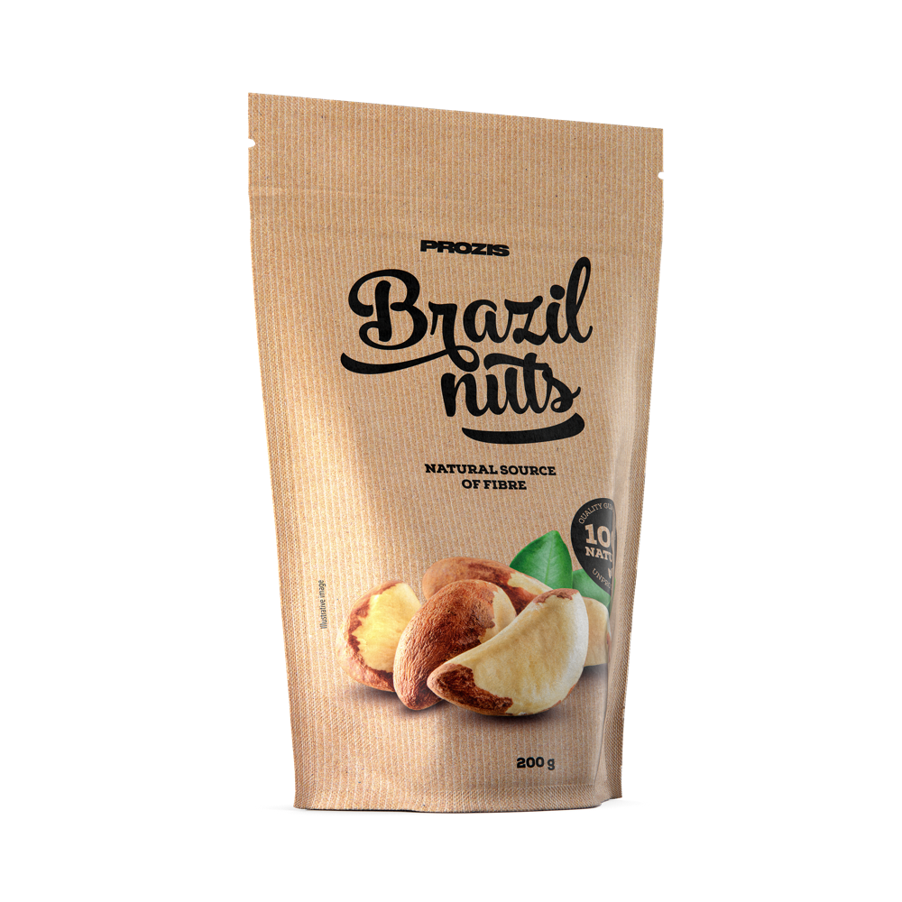 Noix du Brésil 200 g - Nutrition Sportive | Prozis