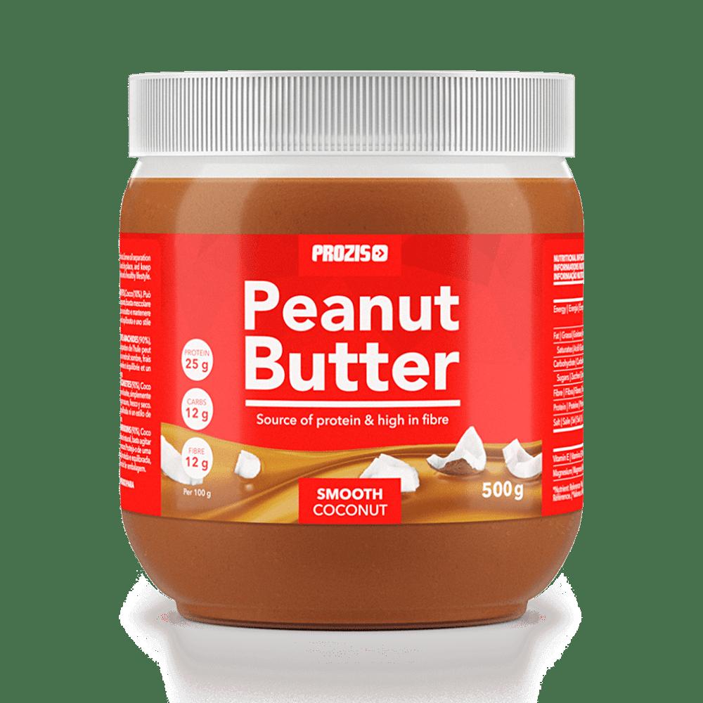 Crema de cacahuete con coco 500 g - Cremas de frutos secos