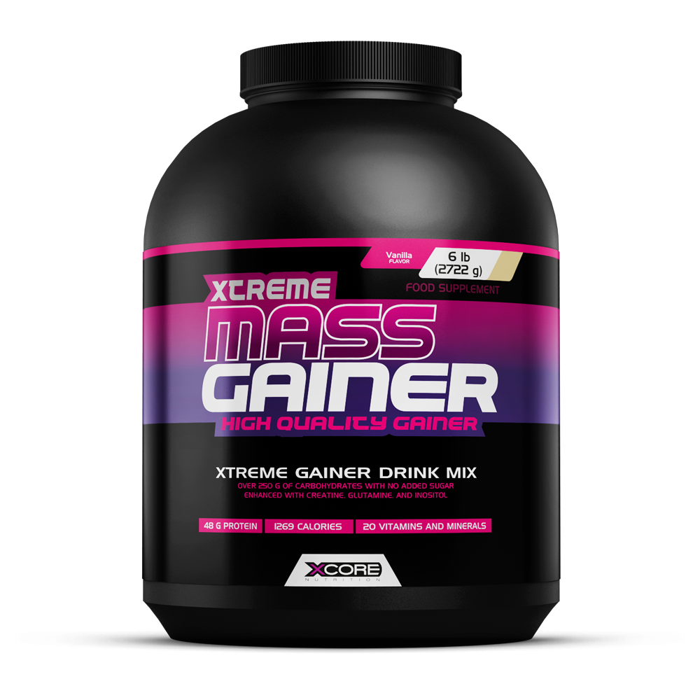 Xtreme Mass Gainer 6 Lbs 2722g Mass Gainers Xcore