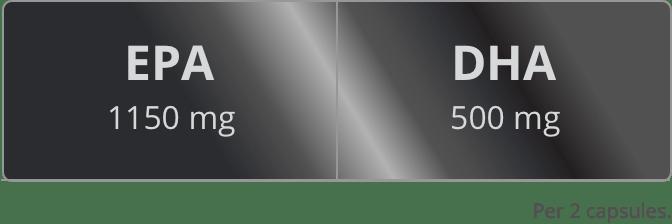 Omega 3 Xtreme SS values