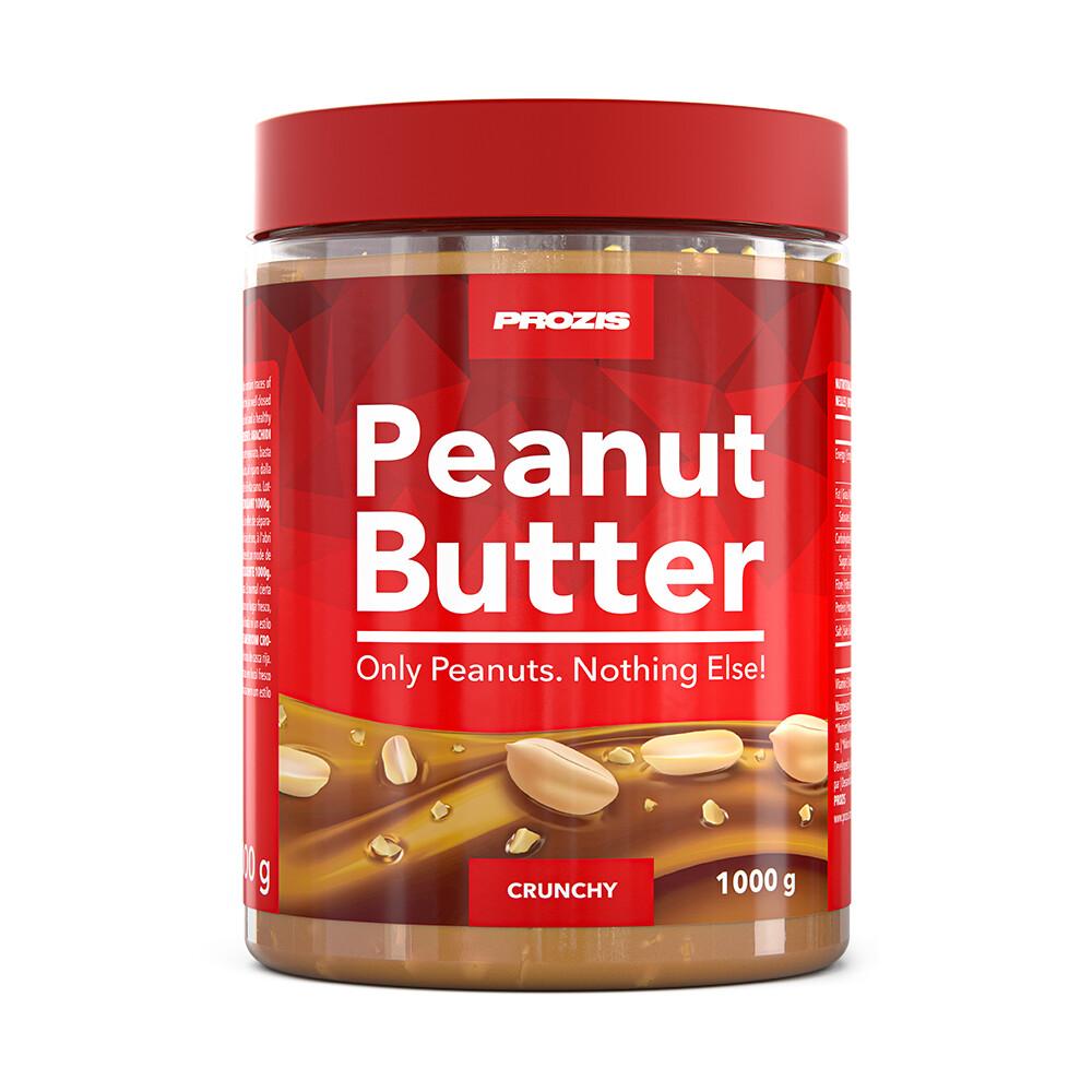 Prozis Burro di Arachidi 1000 g - delizioso snack proteico e puro vegan