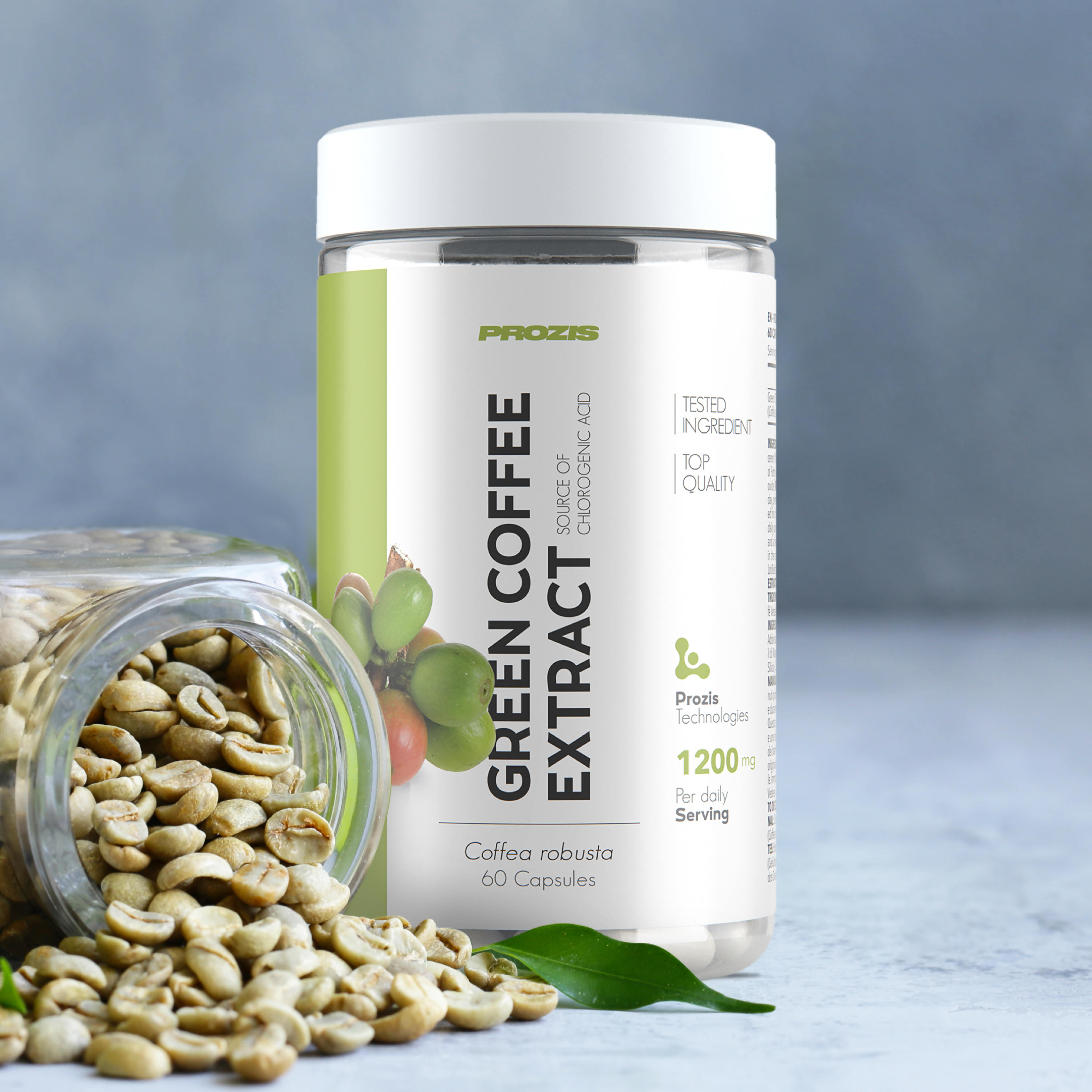 Green Coffee Extract 1200 Mg 60 Caps Fat Burners Muscle