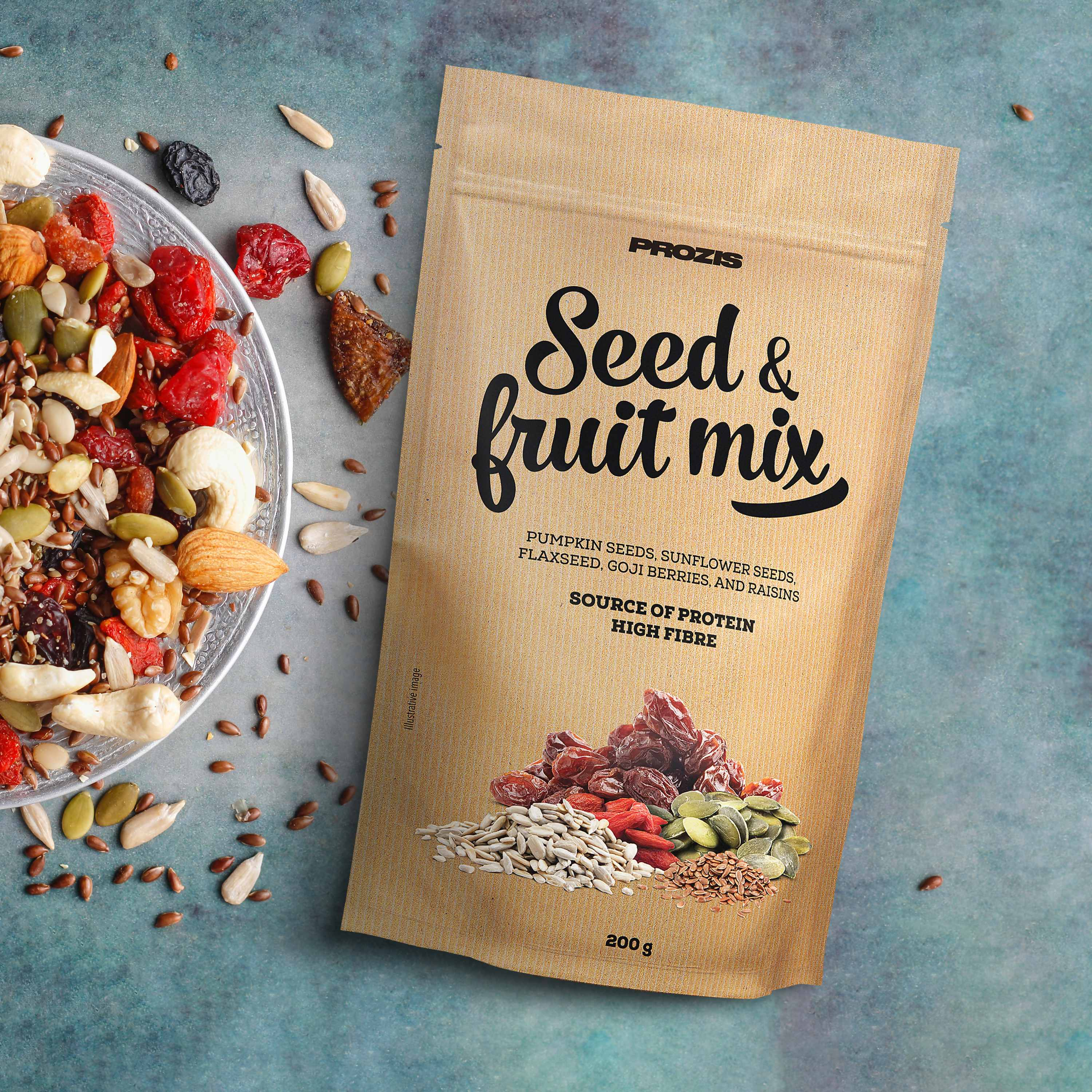 Seed Fruit Mix 200 G Free From Dietary Needs Prozis