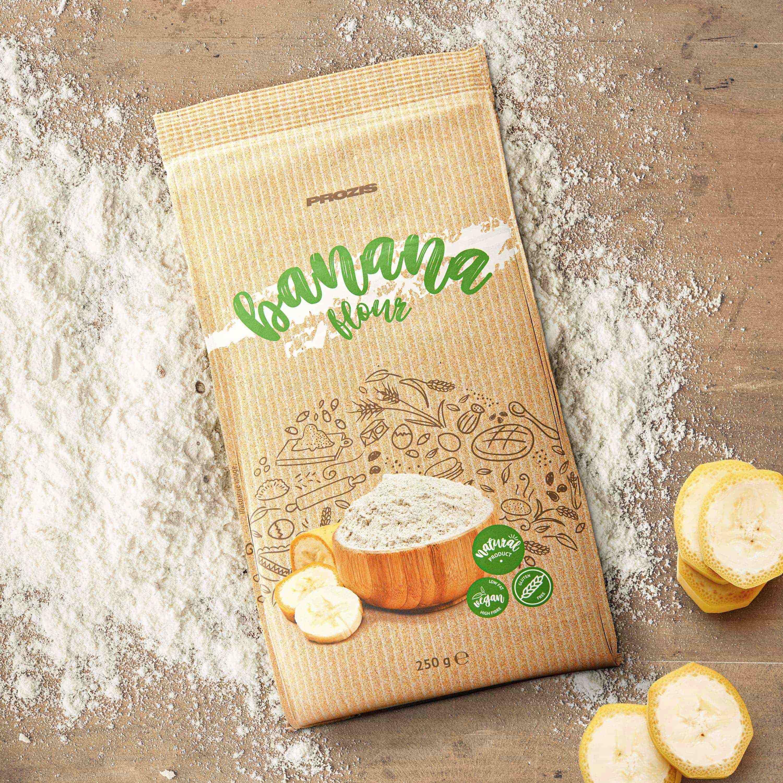 Gluten-Free Banana Flour 250 g - Free From & Dietary Needs | Prozis