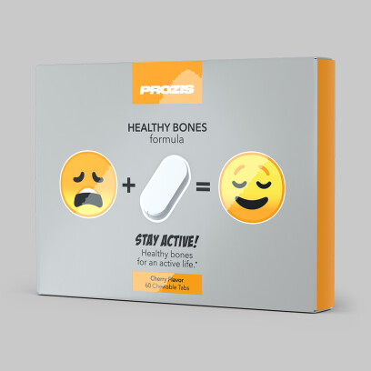 Stay Active - Healthy Bones 60 Chewable tabs - Athlete's