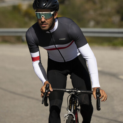 HommeProzis Cycle Jersey Ls X Black Elite OiuwPTkXZ