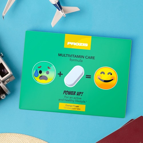 Power Up - Multivitamínico 15 Comprimidos Mastigáveis