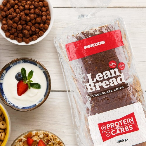 Lean Bread - Pan con pepitas de chocolate 360 g