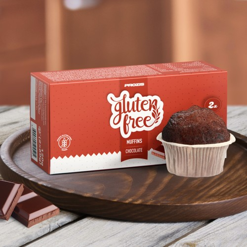 2 x Gluten Free Muffin 60 g Chocolate