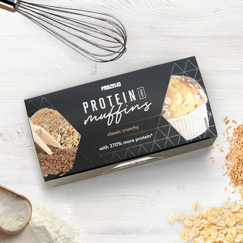2 x Protein Mini Muffins - Clássicos Crocantes 30 g