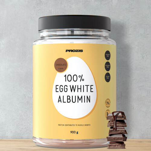 100% Egg White - Albumin 900 g