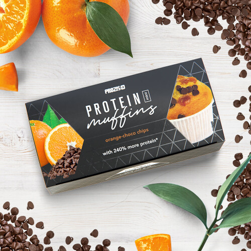 2 x Protein Mini Muffins - Orange-Choco Chips 30 g
