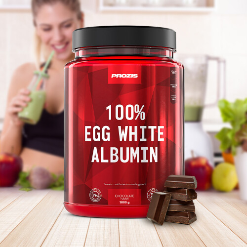 100% Egg White - Albumin 1800 g