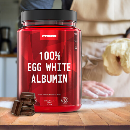 100% Egg White - Albumin 2700 g