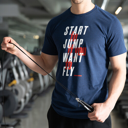 T-Shirt Power Up - Jump to Fly