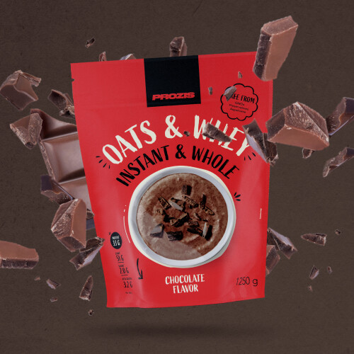 Instant Whole Oats & Whey 1250 g