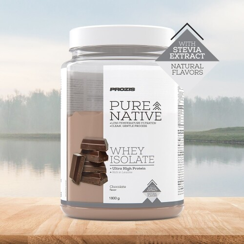 Natural Pure Native Whey Isolate 1800 g