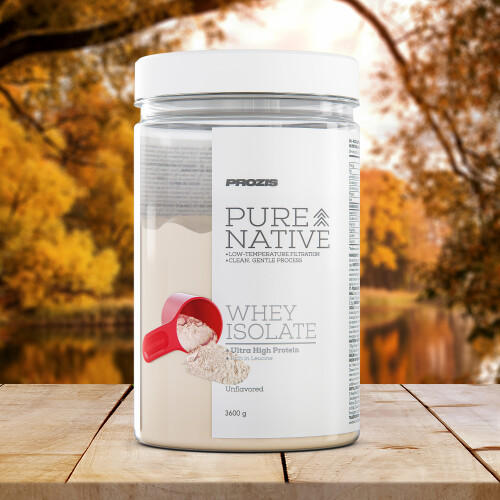 Pure Native Whey Isolate 3600 g