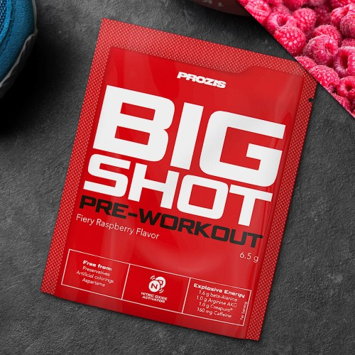 Sachet Big Shot - Pre-Workout 1 serving