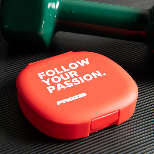 Caixa de Comprimidos Follow Your Passion