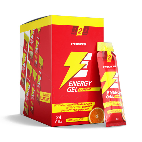 24 x Energy Gel + Caffeine 50 g