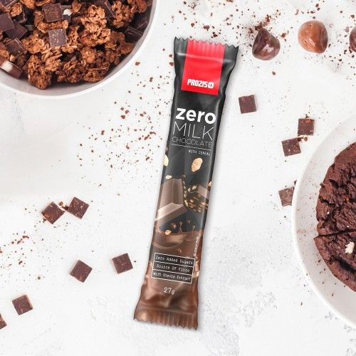 Zero Milk Chocolate with Cereals 27 g