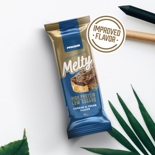 Melty 60 g - Low Sugar Protein Bar