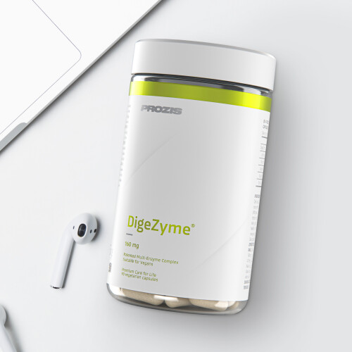 DigeZyme® 160 mg 180 veg caps