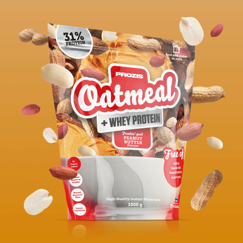 Oatmeal + Whey - Havermout en whey 1000 g