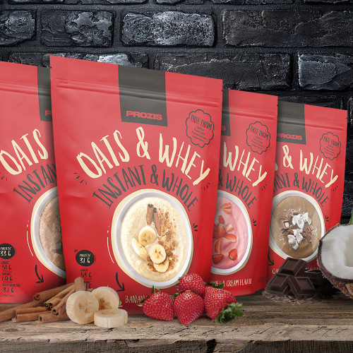 Instant Whole Oats & Whey 2500 g