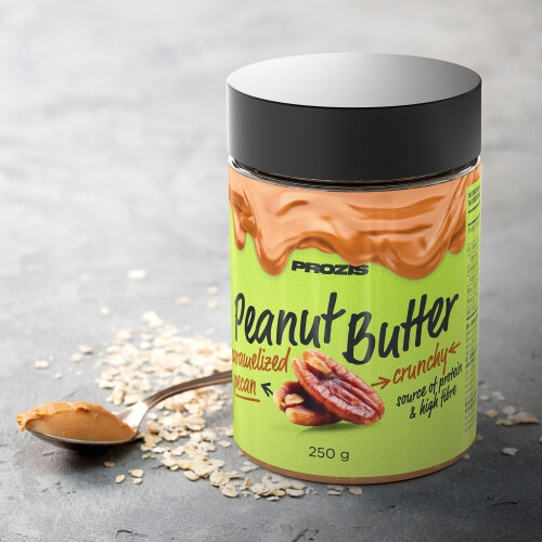 Caramelised Pecan Peanut Butter 250 g