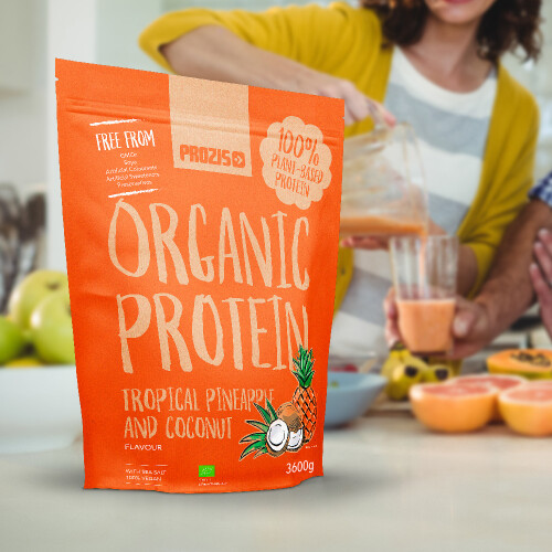 Organic Vegetable Protein 3600 g