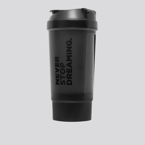 Never Stop Dreaming. Shaker med fack 500 ml
