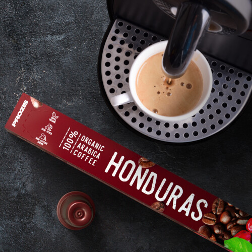 100% Organic Arabica Coffee - Honduras 30 caps