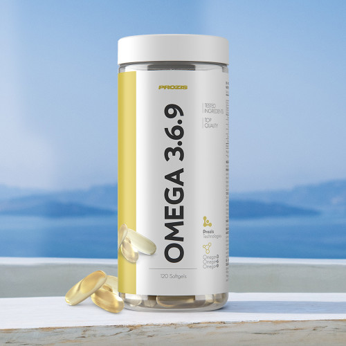 Omega 3-6-9 120 softgels