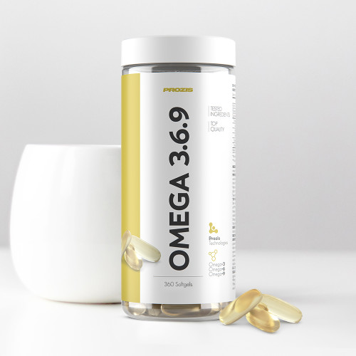 Omega 3-6-9 - 360 softgels