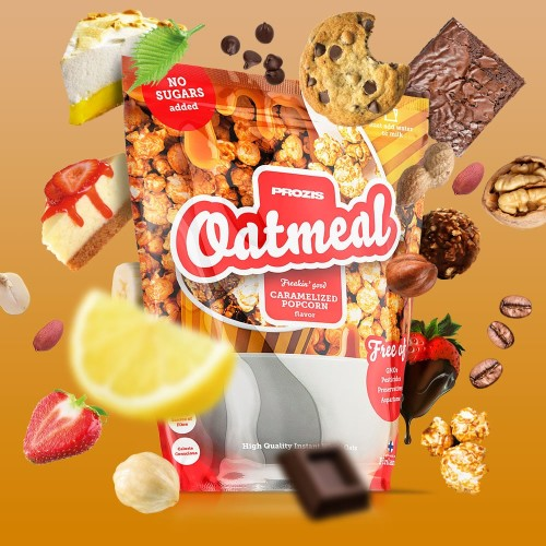 Oatmeal - Wholegrain 2500 g