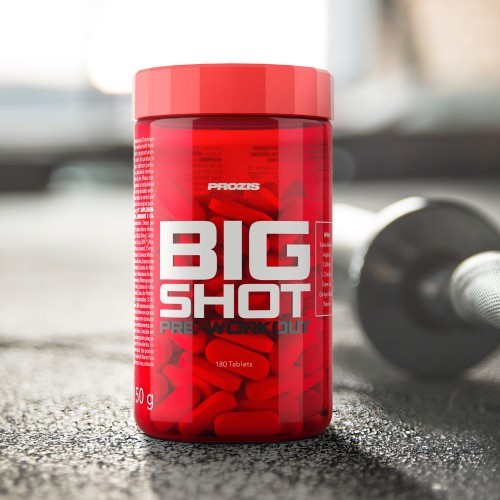 Big Shot - Pre-Workout 180 tabs
