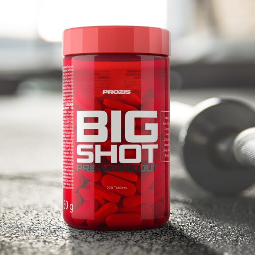 Big Shot - Pre-Workout 270 tabs