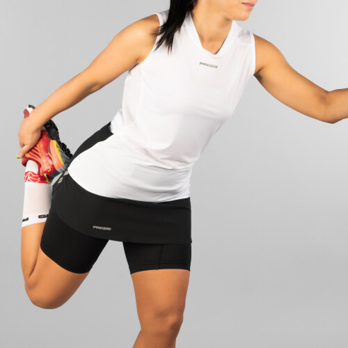 X-Motion Trail Sleeveless T-Shirt - Falcon W White