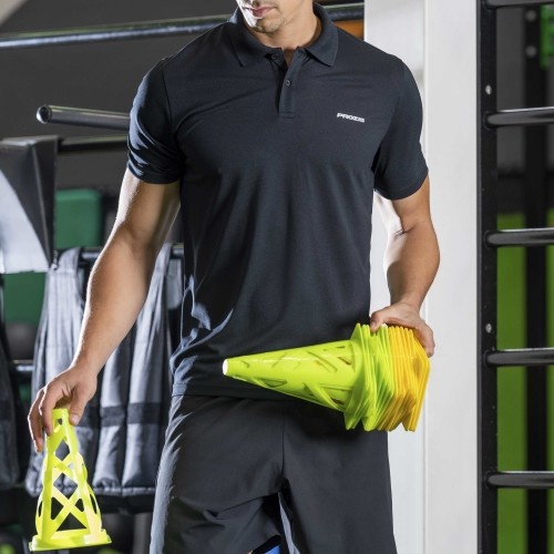 X-Gym Polo - Spin M Black