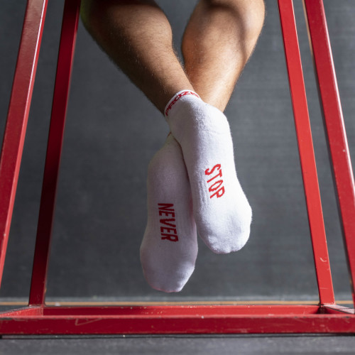 B-Active Trainings-Socken - Never Stop