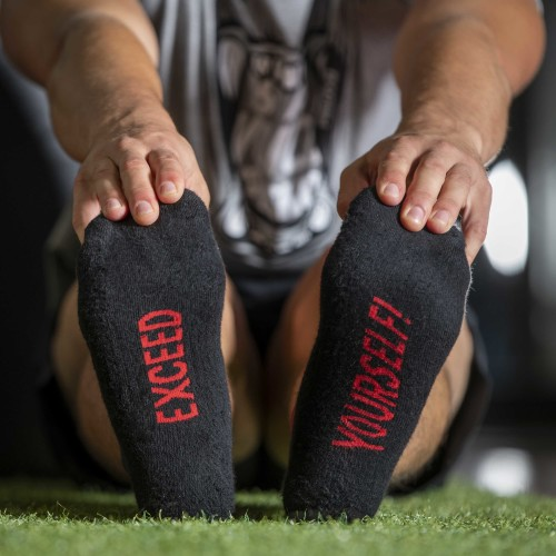 B-Active Trainings-Socken - Exceed yourself