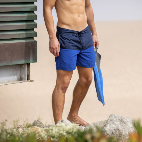 Elite Beach Shorts - Creta Blue