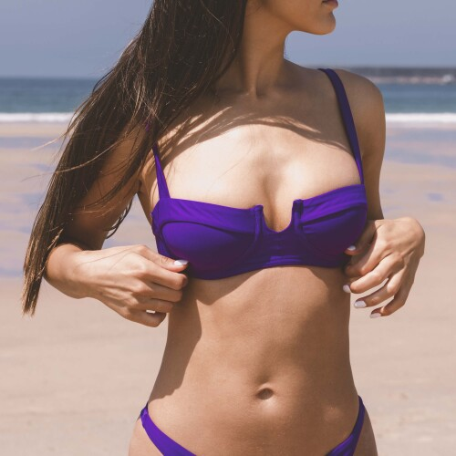 Hot Bikinioberteil - Padron Purple