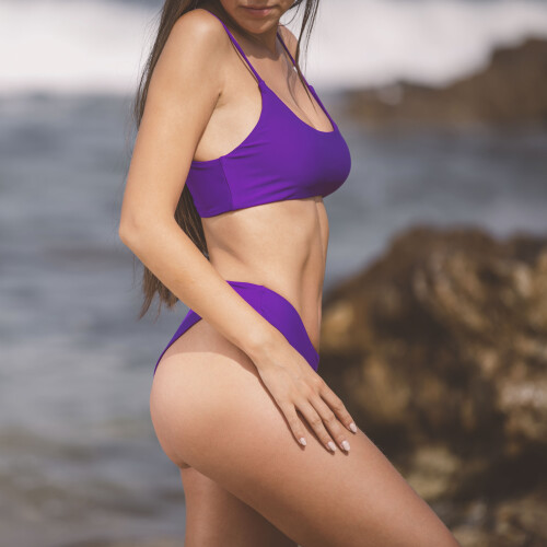 Hot Bikinioberteil - Anaheim Purple