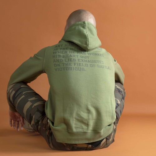 Sweat à capuche Army - Prozis MMVII Green
