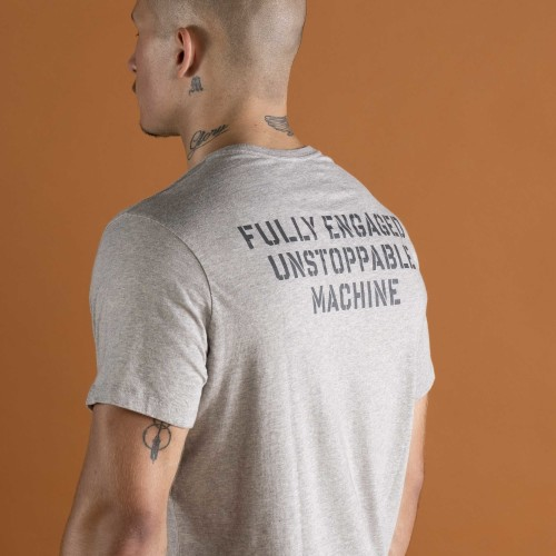 Army T-Shirt - Unstoppable Grey
