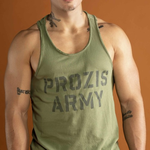 Army Tank Top - Prozis Army Green